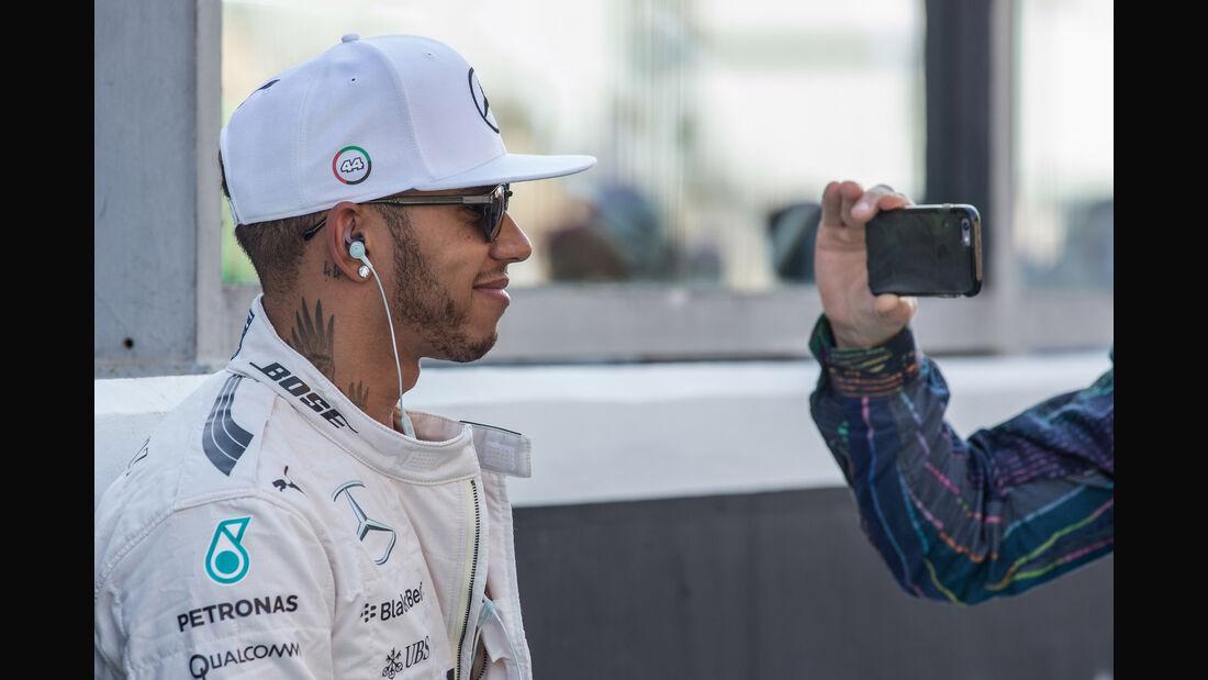 Lewis Hamilton - Danis Bilderkiste - GP Abu Dhabi 2015