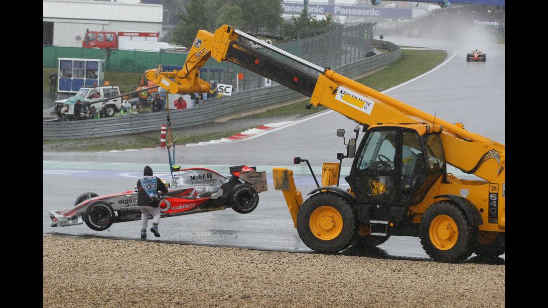 Lewis Hamilton - F1 - Nürburgring - 2007