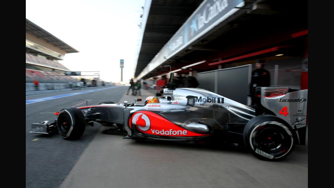 Lewis Hamilton - F1-Test - Barcelona 2012