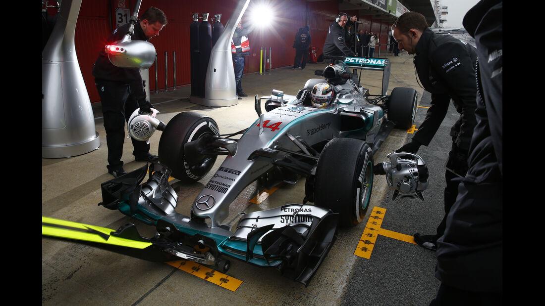 Lewis Hamilton - F1-Test Barcelona - 2015
