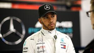 Lewis Hamilton - F1-Test Barcelona 2018