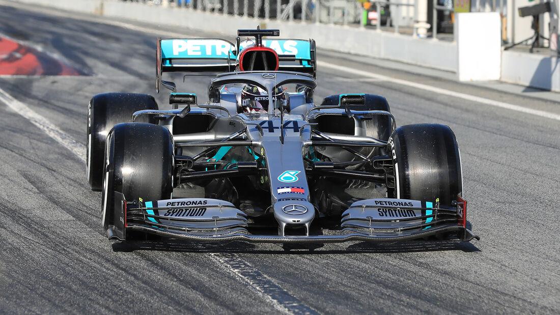 Lewis Hamilton - F1-Test - Barcelona 2020