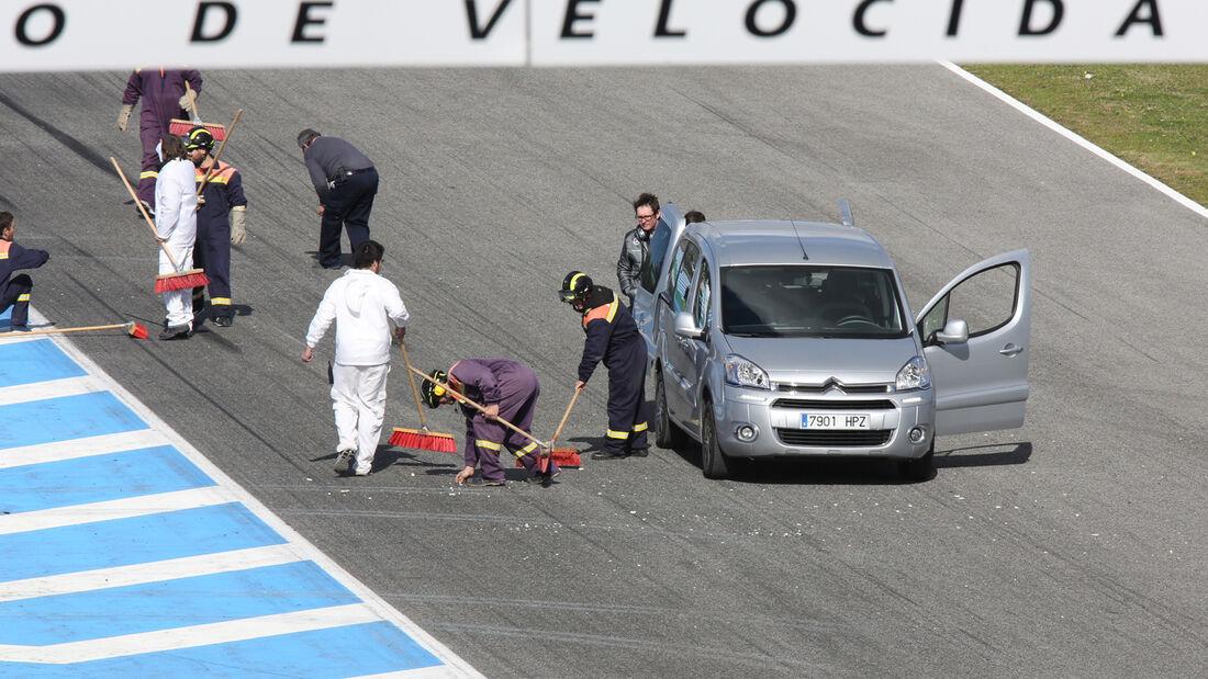 Lewis Hamilton - F1-Test Jerez 2014