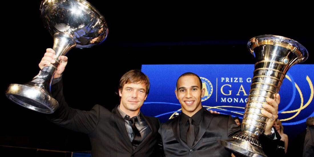 Lewis Hamilton FIA Gala 2008