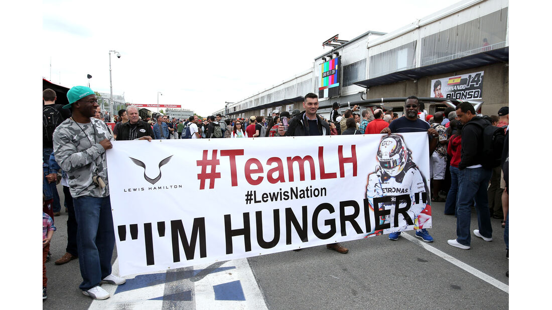 Lewis Hamilton-Fans - Formel 1 - GP Kanada - Montreal - 5. Juni 2014