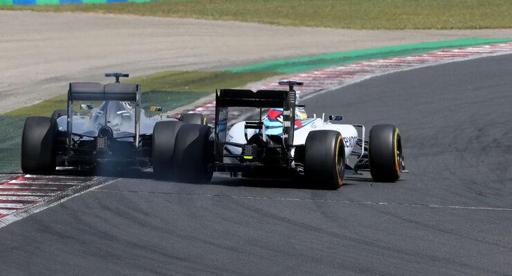 Lewis Hamilton - Felipe Massa - GP Ungarn 2015