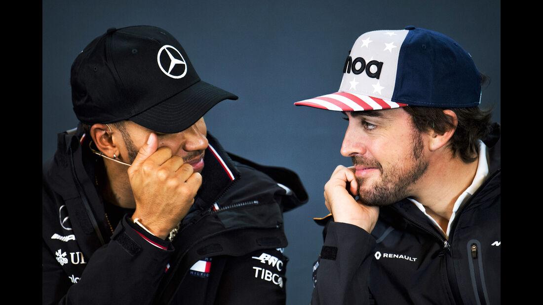 Lewis Hamilton & Fernando Alonso - Formel 1 - GP USA - Austin - 18. Oktober 2018