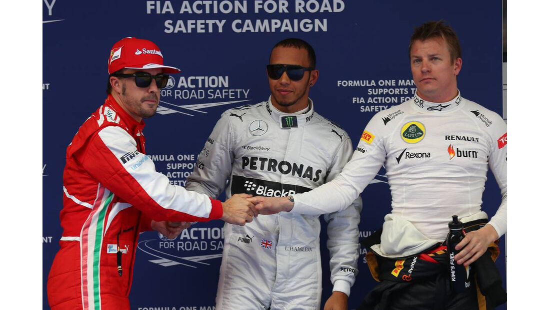 Lewis Hamilton - Fernando Alonso - Kimi Räikkönen - Formel 1 - GP China - 13. April 2013