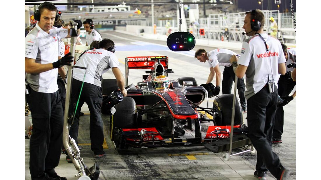 Lewis Hamilton - Formel 1 - GP Abu Dhabi - 02. November 2012