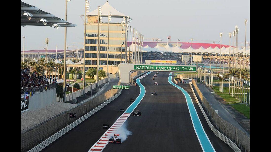 Lewis Hamilton  - Formel 1 - GP Abu Dhabi - 04. November 2012