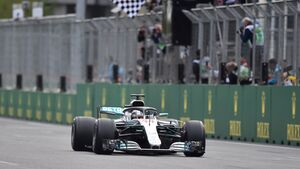 Lewis Hamilton - Formel 1 - GP Aserbaidschan - 29. April 2018