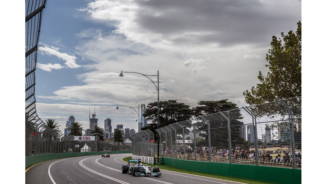 Lewis Hamilton - Formel 1 - GP Australien 2014 - Danis Bilderkiste