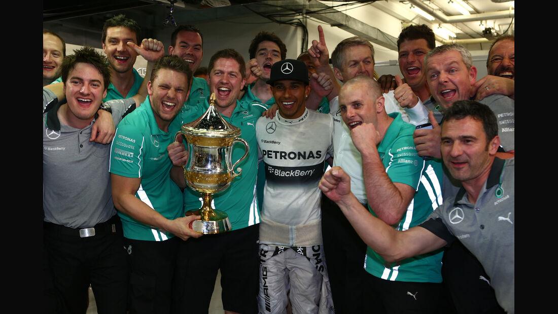 Lewis Hamilton - Formel 1 - GP Bahrain 2014