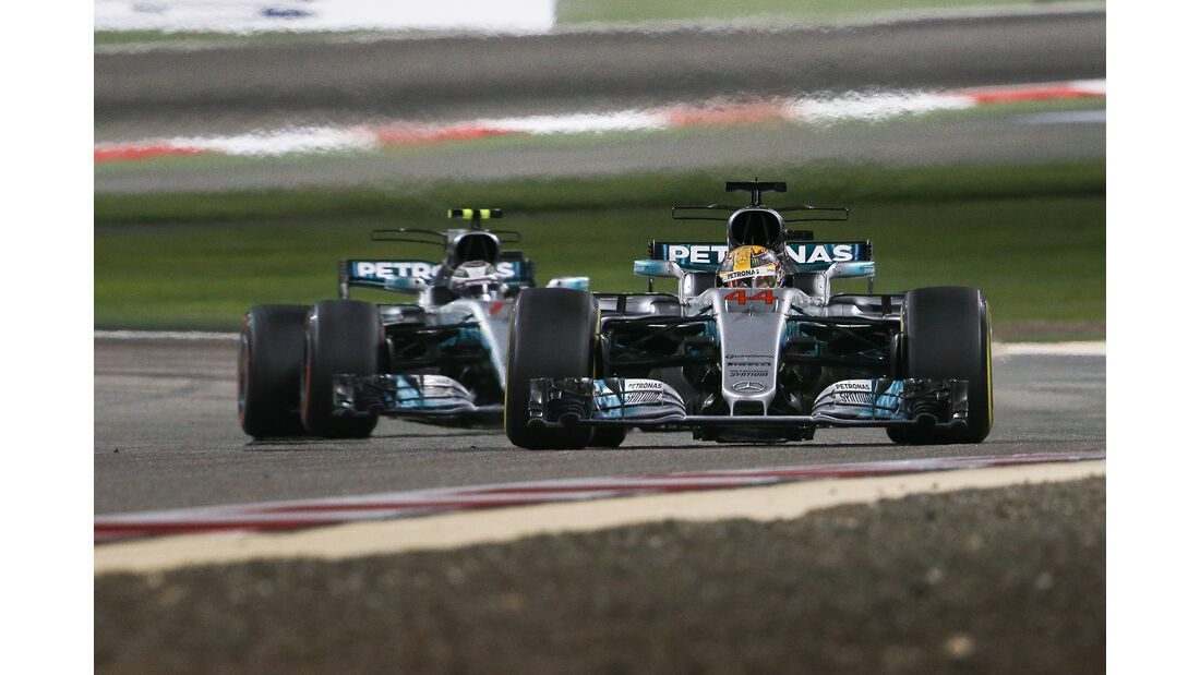 Lewis Hamilton - Formel 1 - GP Bahrain 2017