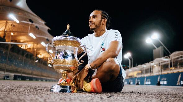 Lewis Hamilton - Formel 1 - GP Bahrain 2019