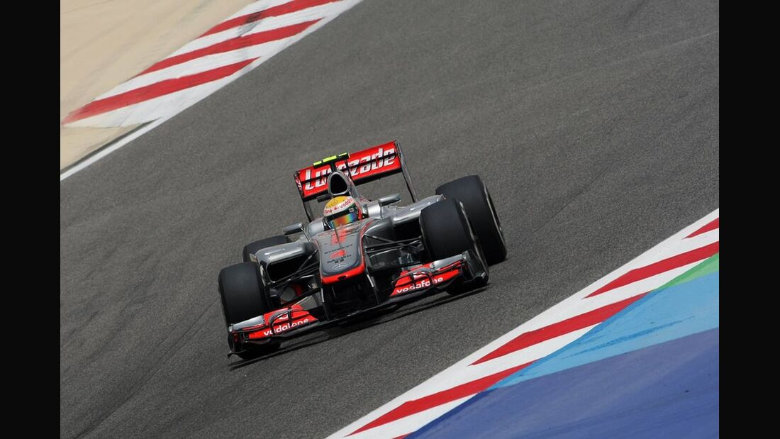 Lewis Hamilton - Formel 1 - GP Bahrain - 21. April 2012