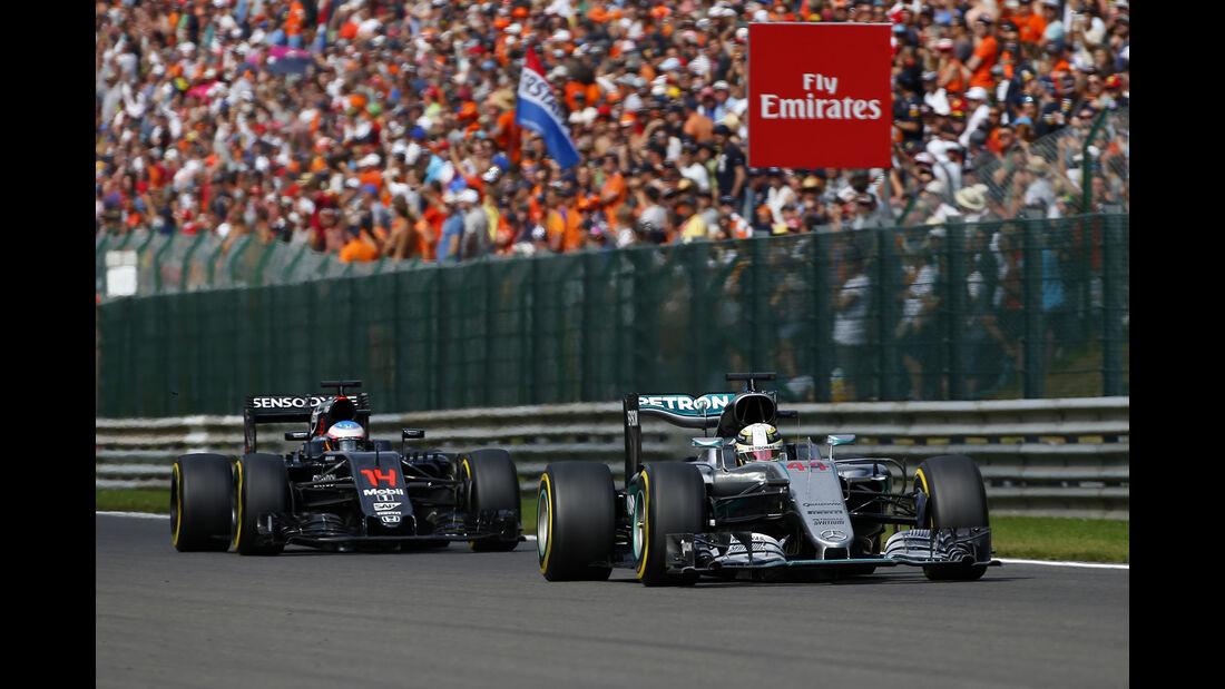 Lewis Hamilton - Formel 1 - GP Belgien 2016