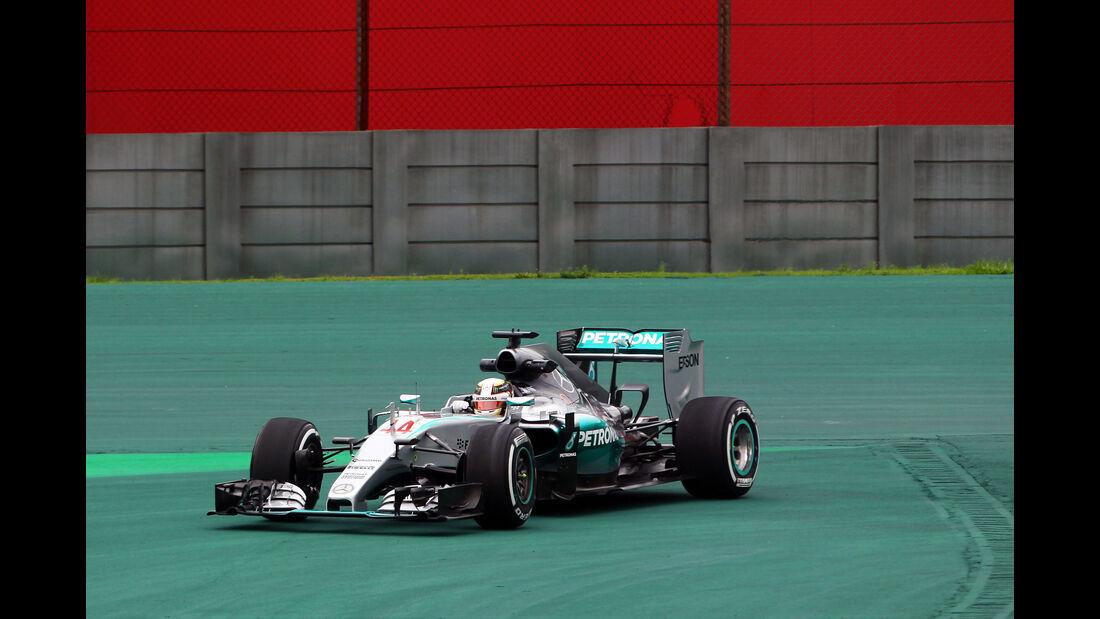 Lewis Hamilton - Formel 1 - GP Brasilien- 13. November 2015