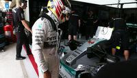 Lewis Hamilton - Formel 1 - GP Brasilien- 14. November 2015