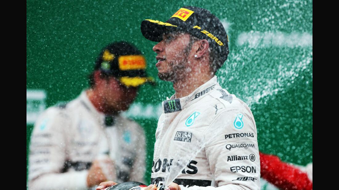 Lewis Hamilton - Formel 1 - GP Brasilien- 15. November 2015