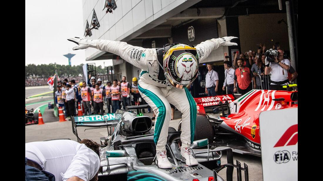 Lewis Hamilton - Formel 1 - GP Brasilien 2018