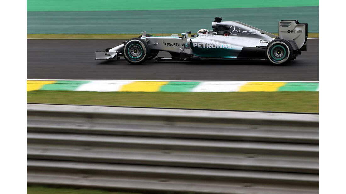 Lewis Hamilton - Formel 1 - GP Brasilien- 7. November 2014
