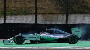 Lewis Hamilton - Formel 1 - GP Brasilien - 9. November 2014