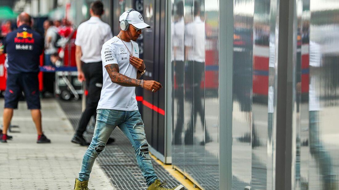 Lewis Hamilton - Formel 1 - GP Brasilien - 9. November 2017