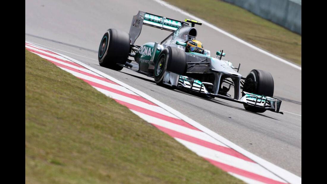 Lewis Hamilton - Formel 1 - GP China - 12. April 2013