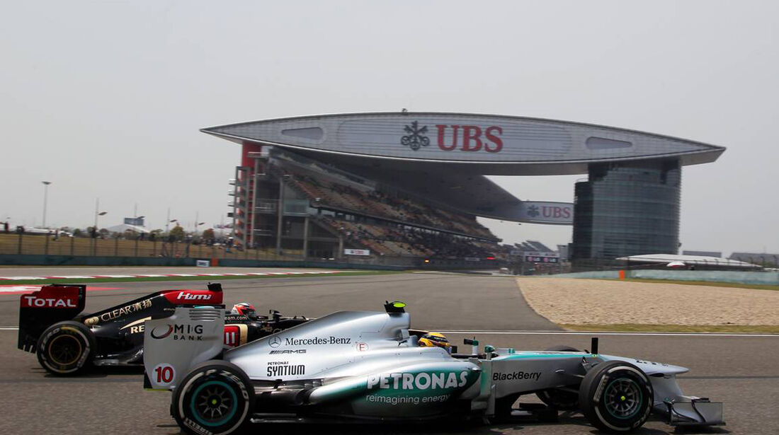 Lewis Hamilton - Formel 1 - GP China -12. April 2013