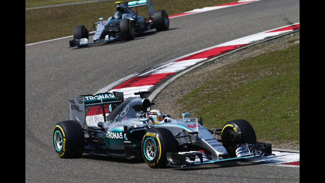 Lewis Hamilton - Formel 1 - GP China 2015
