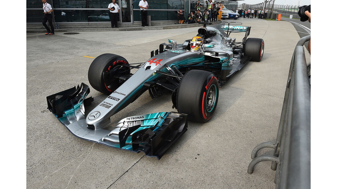 Lewis Hamilton - Formel 1 - GP China 2017
