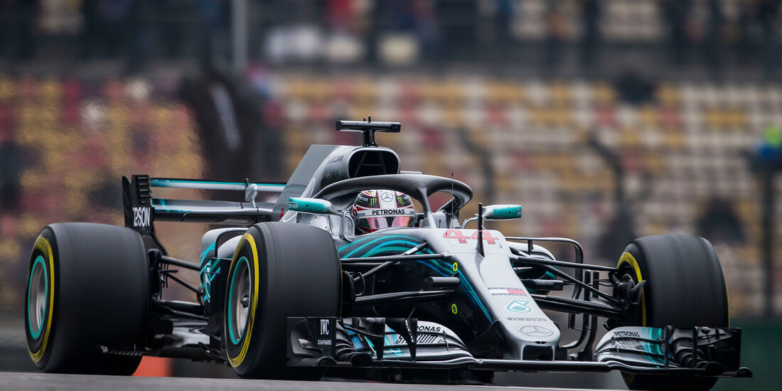 Lewis Hamilton - Formel 1 - GP China 2018