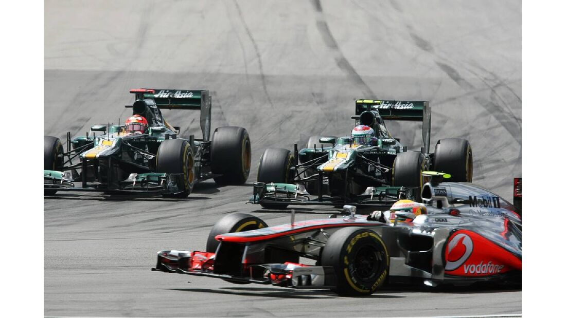 Lewis Hamilton - Formel 1 - GP Deutschland - 22. Juli 2012
