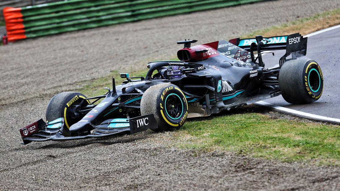 Lewis Hamilton - Formel 1 - GP Emilia Romagna - 2021