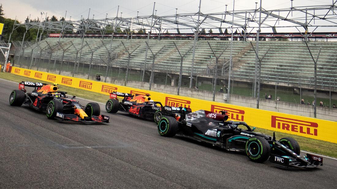 Lewis Hamilton - Formel 1 - GP Emilia Romagna - Imola 2021