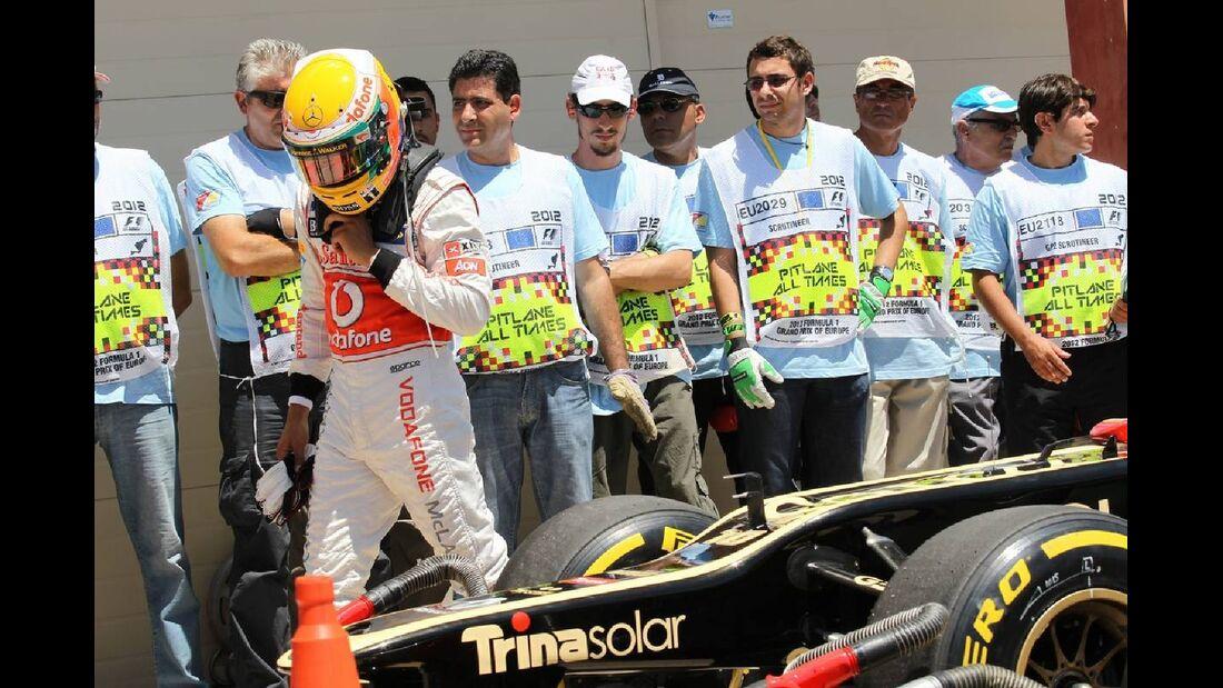 Lewis Hamilton  - Formel 1 - GP Europa - 23. Juni 2012