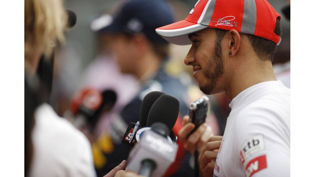 Lewis Hamilton- Formel 1 - GP Indien - 27. Oktober 2012