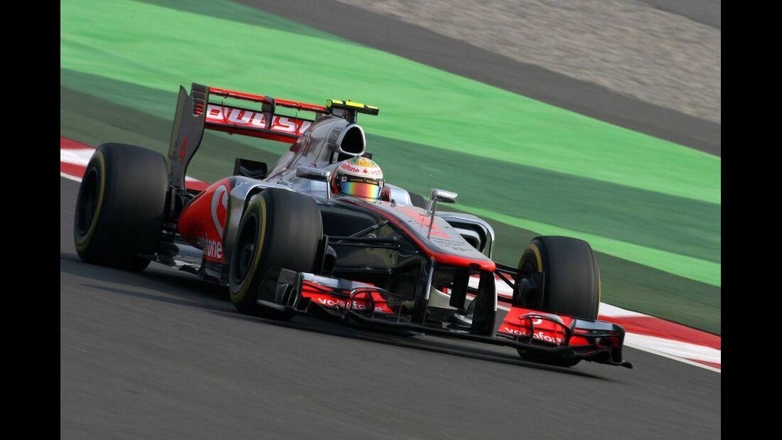 Lewis Hamilton - Formel 1 - GP Indien - 27. Oktober 2012