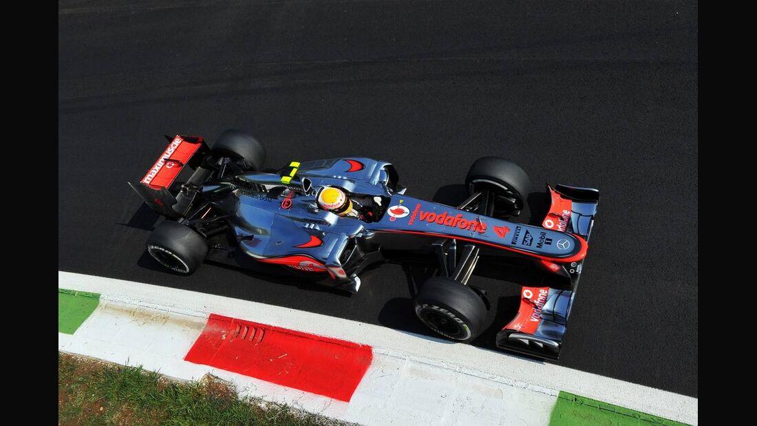 Lewis Hamilton  - Formel 1 - GP Italien - 07. September 2012