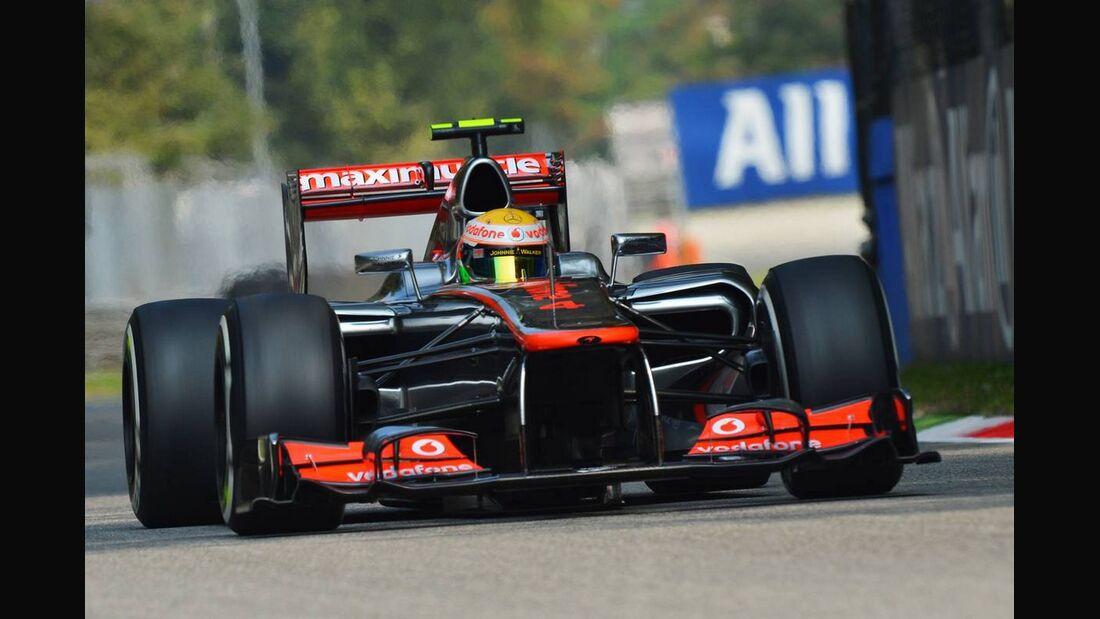 Lewis Hamilton - Formel 1 - GP Italien - 08. September 2012