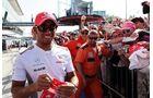 Lewis Hamilton - Formel 1 - GP Italien - 6. September 2012