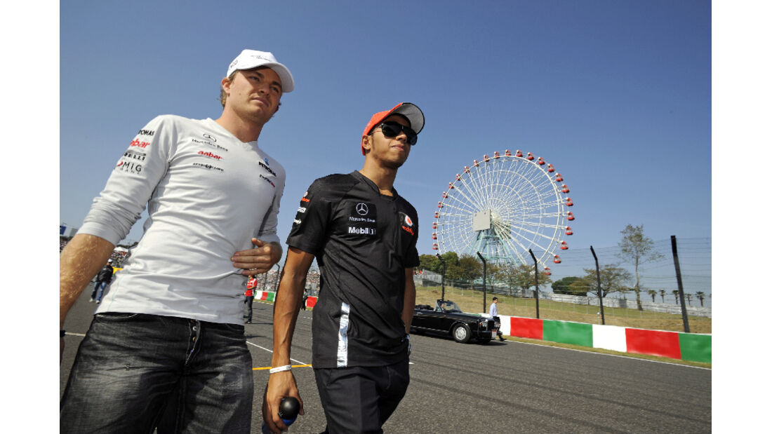 Lewis Hamilton  - Formel 1 - GP Japan - 9. Oktober 2011
