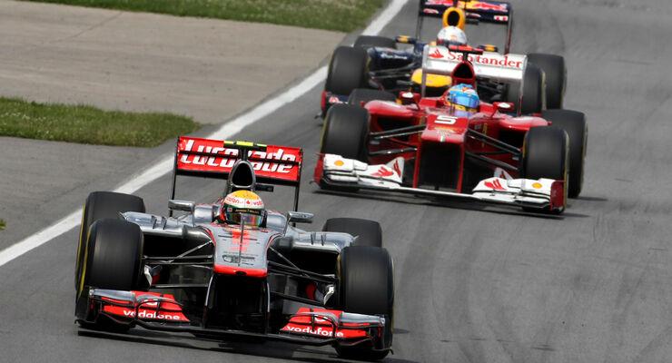 Lewis Hamilton - Formel 1 - GP Kanada 2012