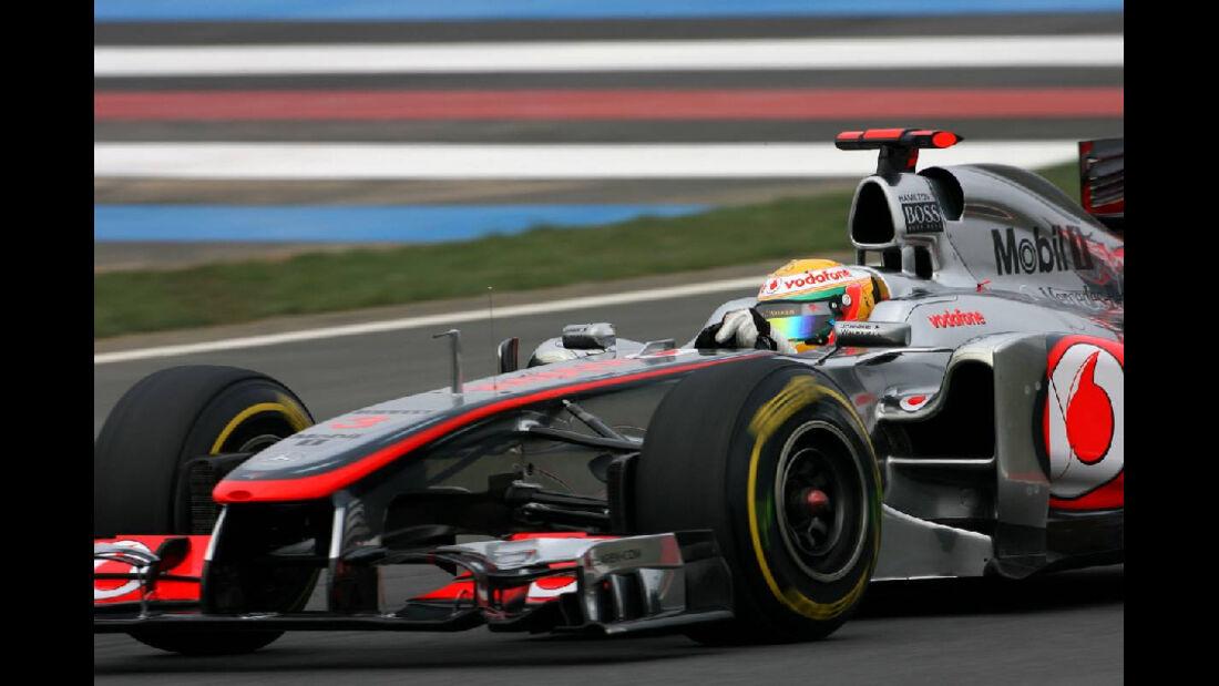 Lewis Hamilton  - Formel 1 - GP Korea - 15. Oktober 2011