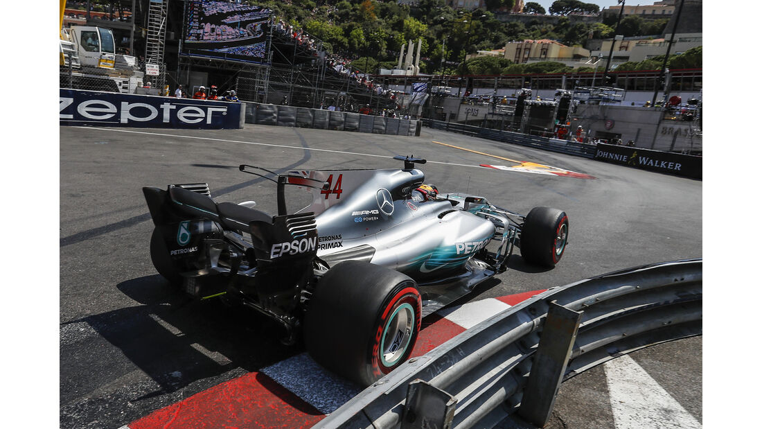 Lewis Hamilton - Formel 1 - GP Monaco 2017