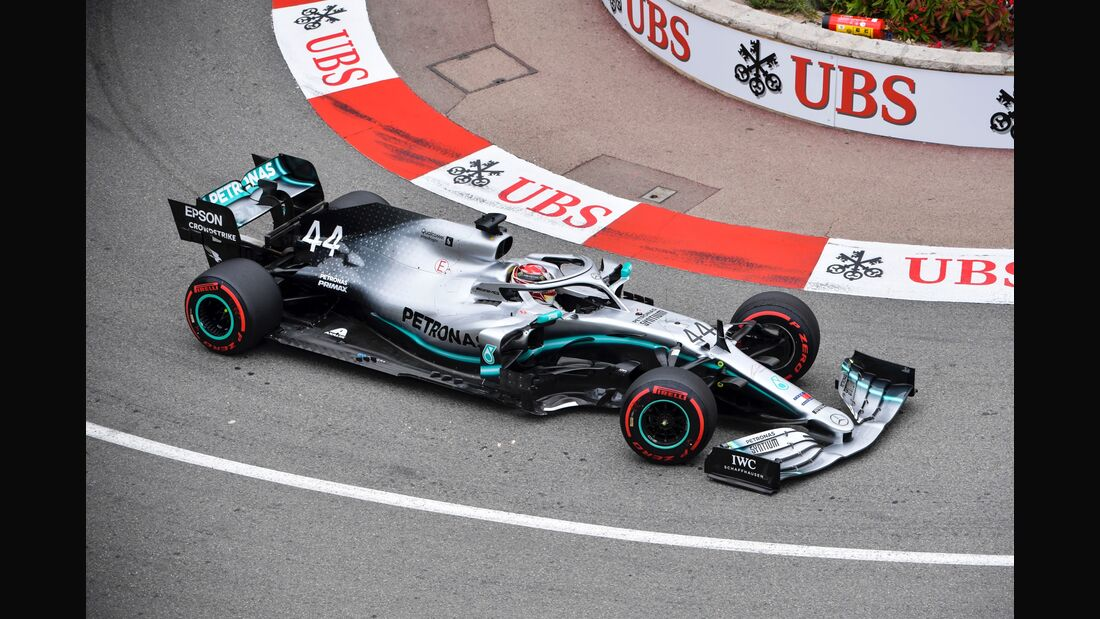 Lewis Hamilton - Formel 1 - GP Monaco - 23. Mai 2019