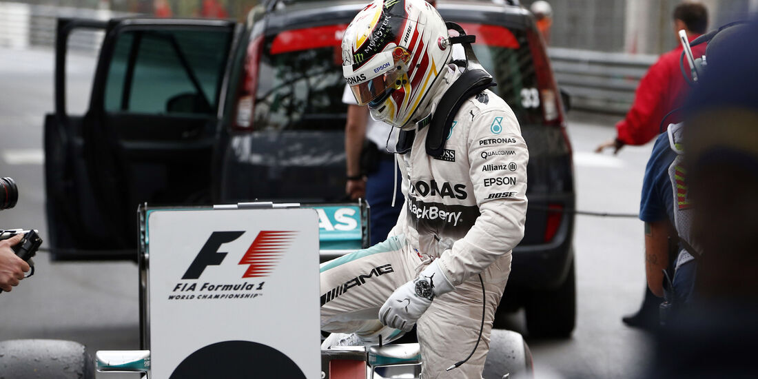 Lewis Hamilton - Formel 1 - GP Monaco - Sonntag - 24. Mai 2015