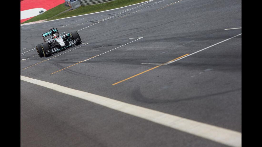 Lewis Hamilton - Formel 1 - GP Österreich 2015 - Danis Bilderkiste
