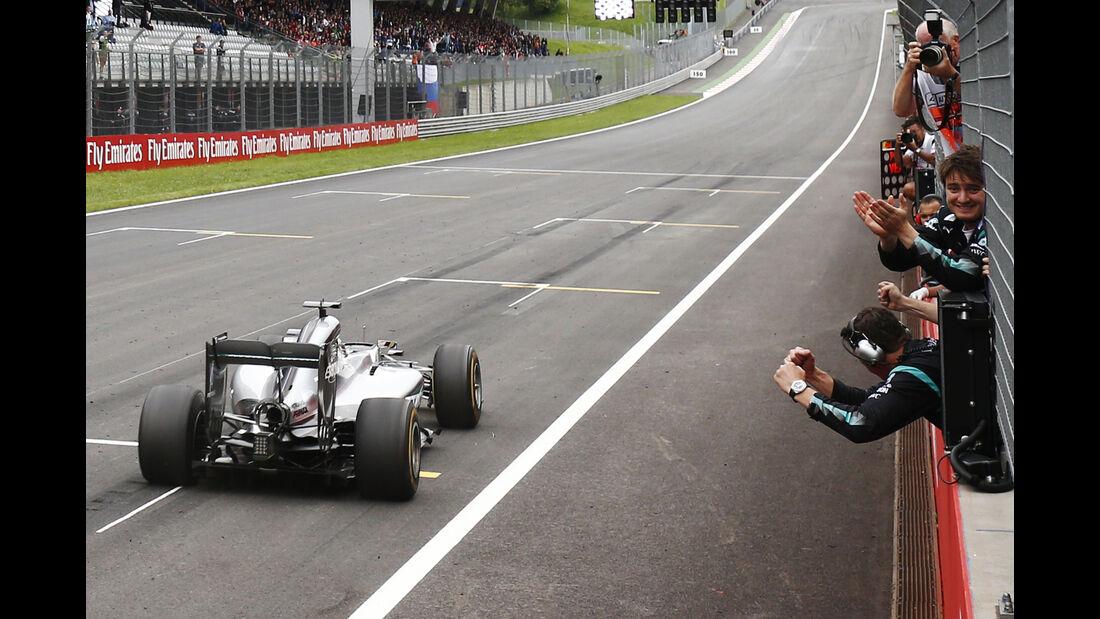 Lewis Hamilton - Formel 1 - GP Österreich 2016